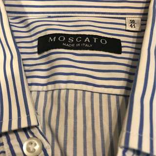 Moscato Made in Italy Shirt Brand New
