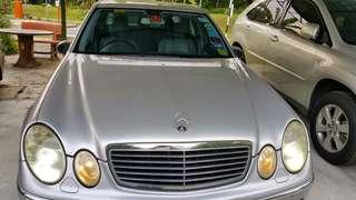 Mercedes Benz CBU W211 E220 CDI