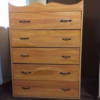 5 Layer Wooden Drawer
