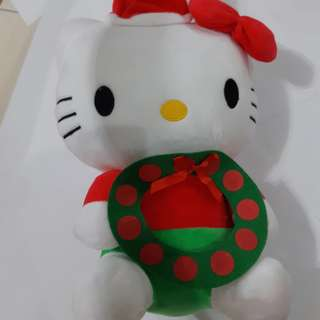 Santa claus hello Kitty