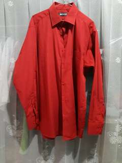 Red Alisan Dress Shirt