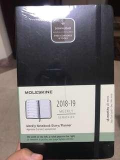 BN Moleskin 18month weekly planner