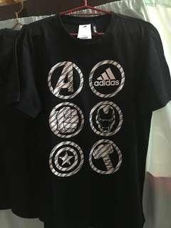 Adidas Avengers Shirt Black