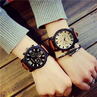 $50 for 2! FASHION CASUAL Couple Watches