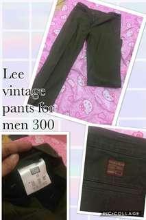 Lee vintage pants