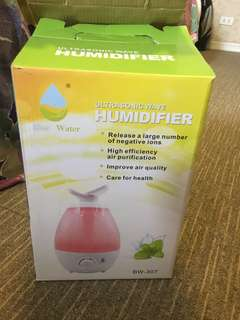 Blue Water Ultrasonic Wave Humidifier