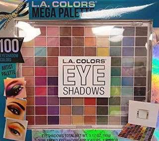 LA Colors 100 Eyeshadows
