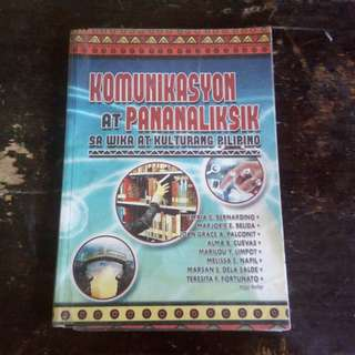 Kommunikasyon at Pananaliksik