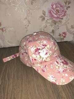 Topi Flower Pink