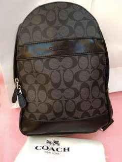 Coach Sling Bag original ready stock