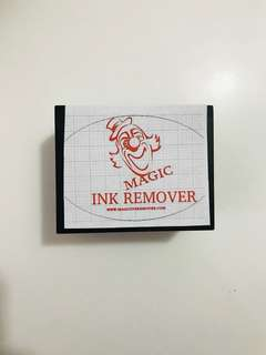 Magic Ink remover