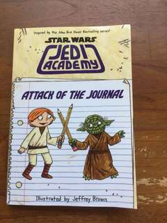 Star Wars Jedi Academy - Attack of the Journal by Jeffrey Brown