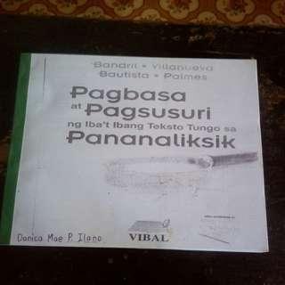 Pagbasa at Pagsusuri