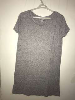 H&M Grey Shirt Dress