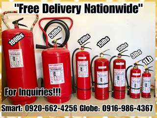 Brandnew and Refill- All Kinds of Fire Extinguishers