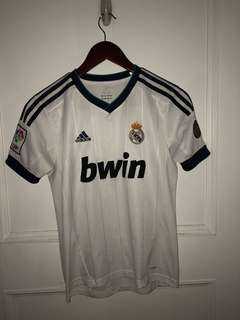 Real Madrid Home Football Jersey
