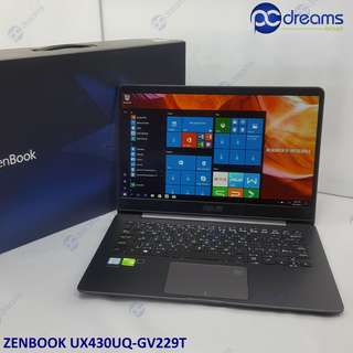 ASUS ZENBOOK UX430UQ - GV229T [FACTORY REFRESHED] [PC Dreams Outlet]