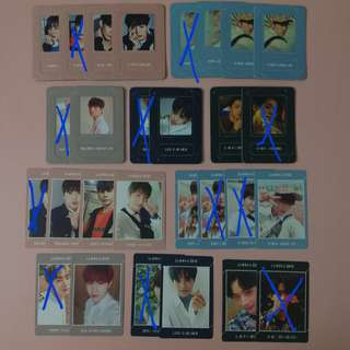 WTT WTS UNDIVIDED WANNA ONE PC MAGNET