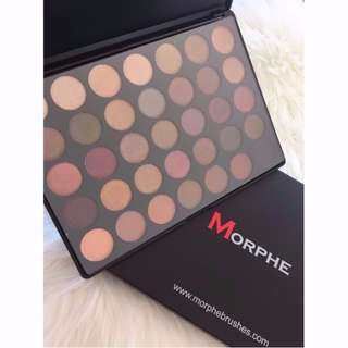 35F- Morphe Brushes - Fall Into Frost Palette- Authentic