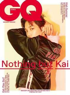 EXO KAI - GQ KOREA Magazine