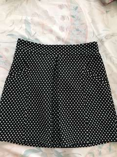 Topshop Polka Dot Skirt