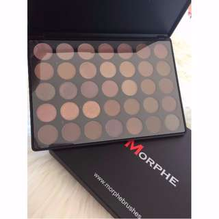 35T- Morphe Brushes -Taupe Palette- Authentic