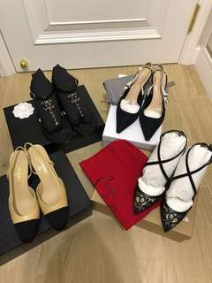 全部購至專門店 - chanel / dior / christian lounoutin pumps