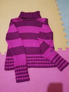 Pretty Pink Knitted Sweater