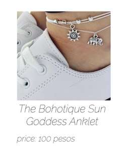 The Bohotique Sun Goddess Anklet