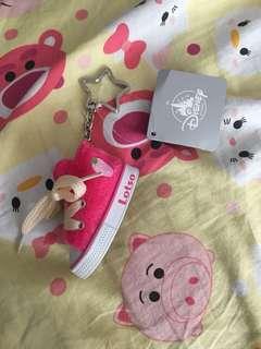 勞蘇 Lotso 小鞋子 鎖匙扣 掛飾