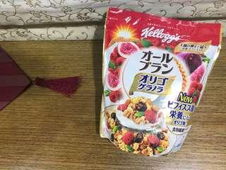 日本 家樂氏水果麥片