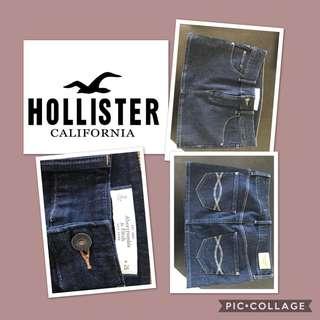Hollister Dark Blue Denim Skirt Size Small