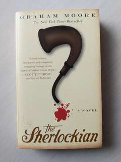 The Sherlockian Novel Graham Moore