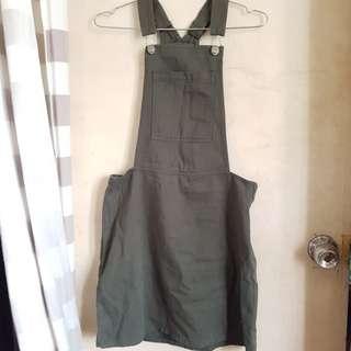 Arny Green Jumper Skirt