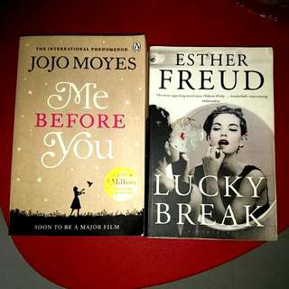 2 books: Me Before You / Lucky Break