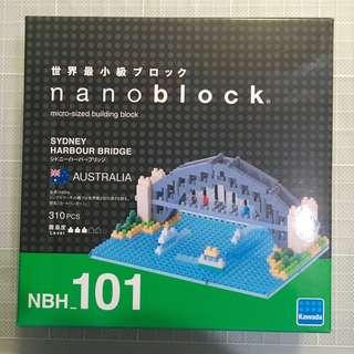 Nanoblock 悉尼大橋 NBH_101 Sydney Harbour bridge