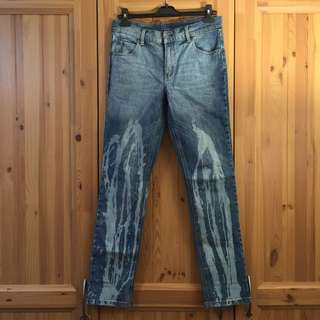 Cheap Monday Washed Denim Jeans