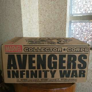 Marvel Collector Corps Avengers Infinity War