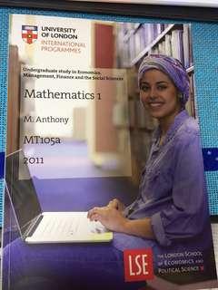 UOL mathematics 1