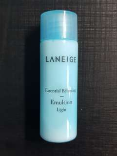 New 25ml Laneige Essential Balancing Emulsion Light