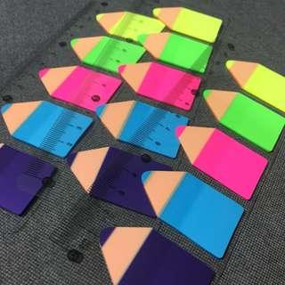 Post-it Neon Pencil Strips