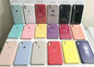 Apple Silicone Case New Colors! Available for all iPhones