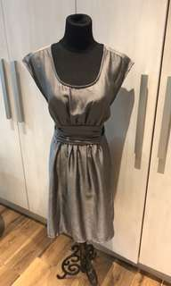 H&M Gunmetal Gray Dress