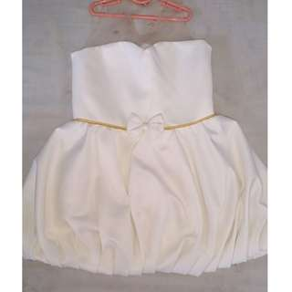 Baby Fashionista White Dress