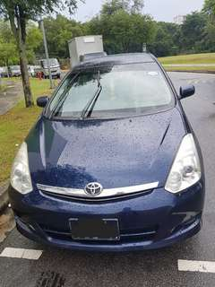 Toyota Wish 1.8a (cheap cheap)