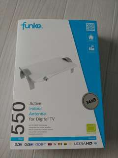 Funke 550 digital tv antenna