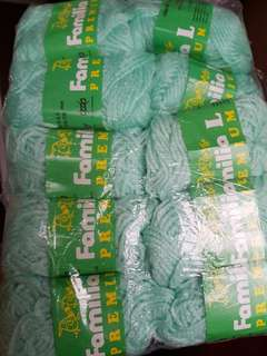 Familia Mint Green Yarns (10 balls)