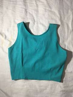 Bowed backed Crop top