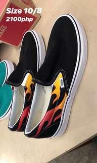 Vans Thrasher Size 8 and 10 Slip-Ons