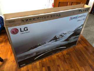 "55"" TV CARTON BOX [BRAND NEW LG]"